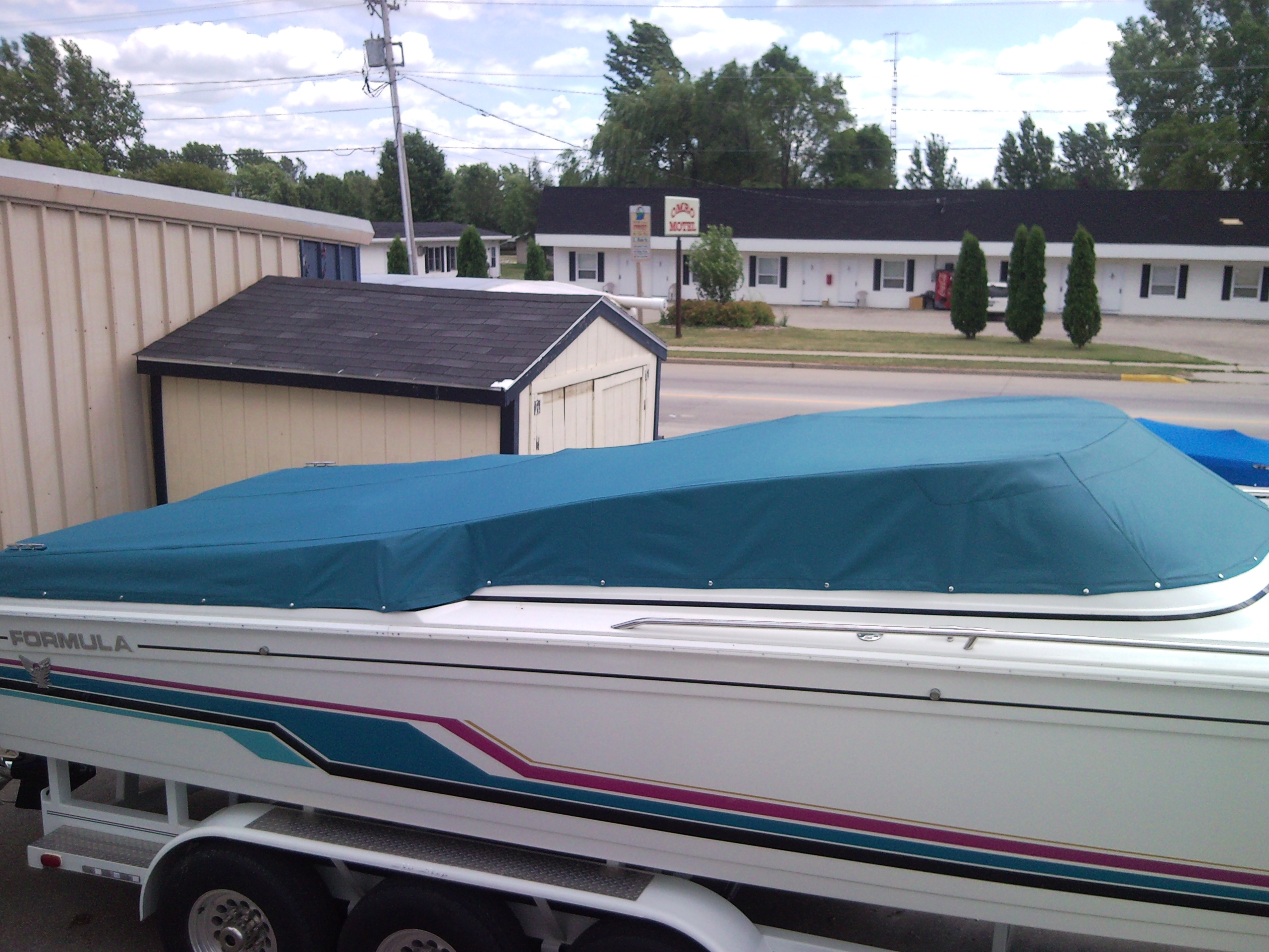 Boat Windshield Cover Custom Sunbrella Boat Cover