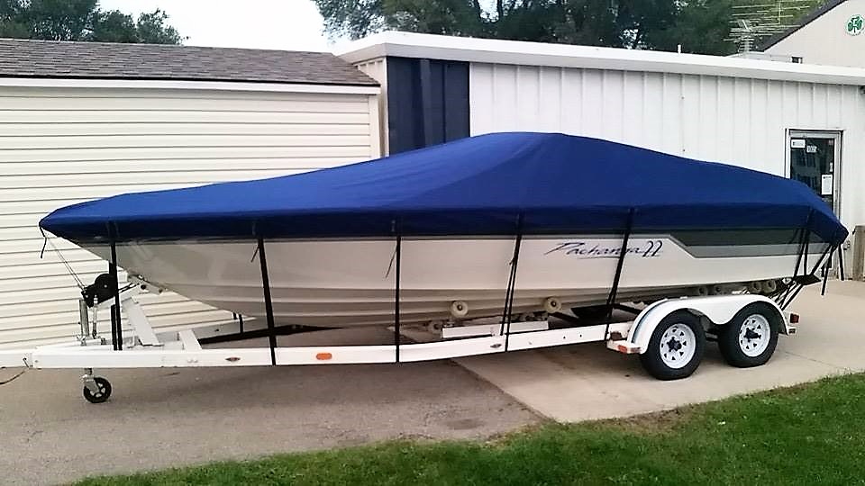 Custom Sunbrella Boat Cover: