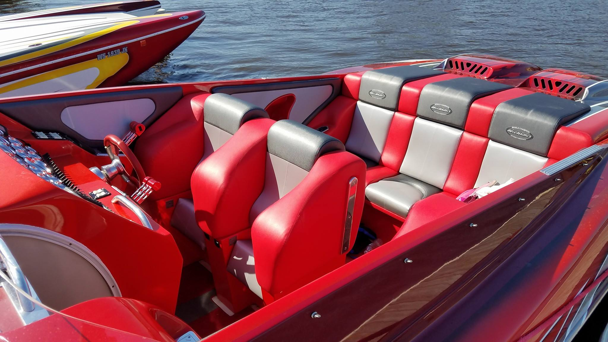 Custom Marine Interiors, Upholstery, And Carpeting: Outerlimits 42u0027 Legacy  New Totally Redesigned