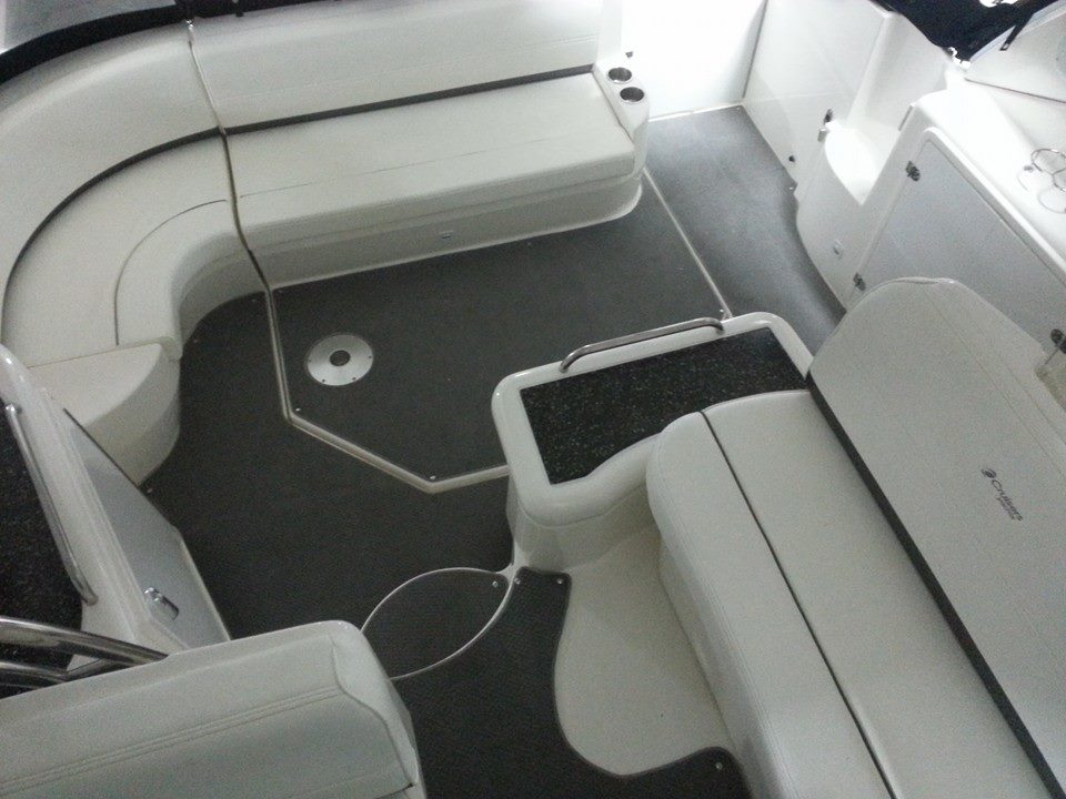 Custom Marine Interiors, Upholstery, And Carpeting: Custom Carpet Project  Cruisers Yacht
