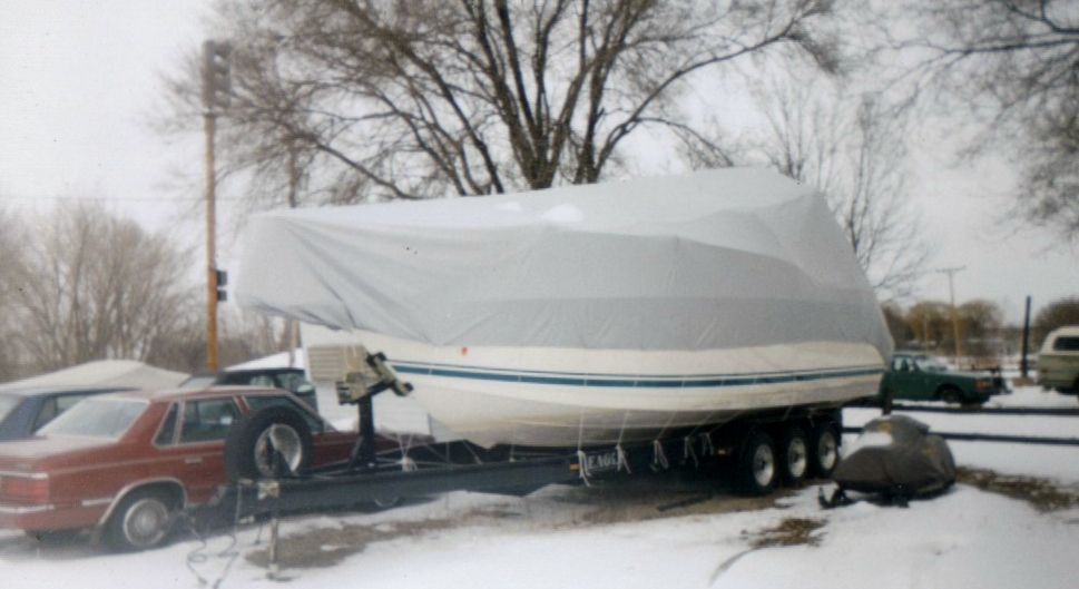 Custom Marine/Boat/Yacht Winter Cover: Baja winter cover